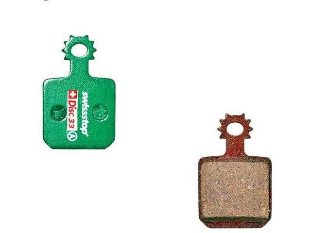 SwissStop Disc 33 Bremsbeläge für Magura grün